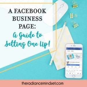 A Facebook Business Page: Setting One Up!