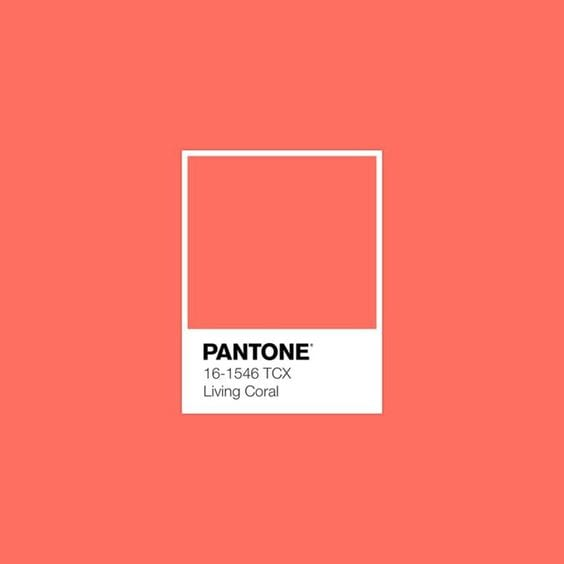 Pantone Color of the Year Living Coral | The Radiance Mindset | www.theradiancemindset.com