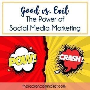 Post Title Image | Power of Social Media | The Radiance Mindset | theradiancemindset.com