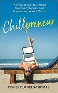 Chillpreneur Book Cover | The Radiance Mindset | www.theradiancemindset.com