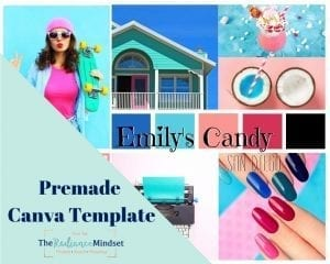 Summer Color Palette Branding and Mood Board | The Radiance Mindset | www.theradiancemindset.com