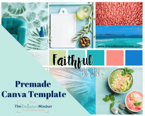 Beach Color Palette Branding and Mood Board | The Radiance Mindset | www.theradiancemindset.com