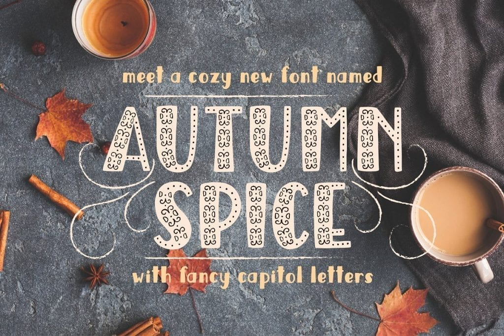 Fall Fonts | The Radiance Mindset | www.theradiancemindset.com