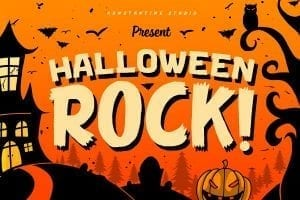 Halloween Font | https://crmrkt.com/NdG5p8