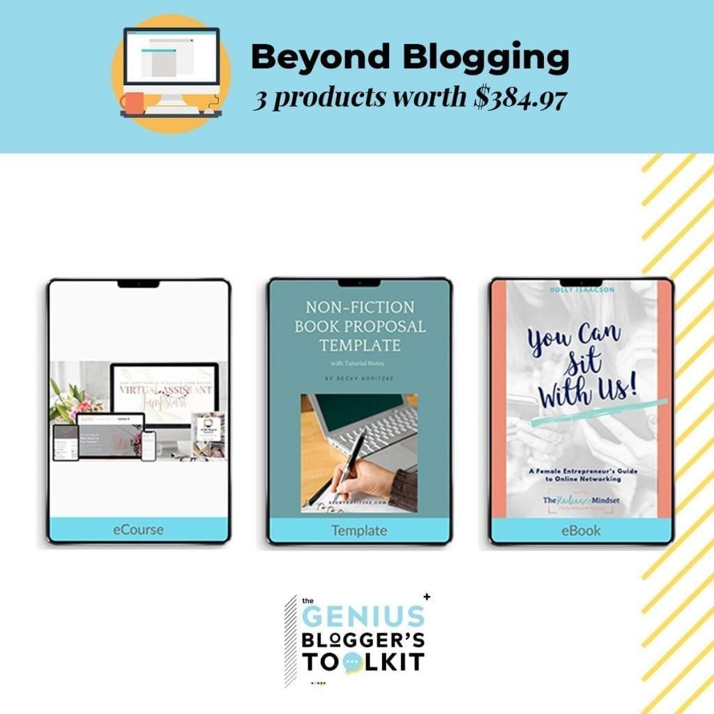 Genius Blogger's Toolkit 2019 | The Radiance Mindset | www.theradiancemindset.com