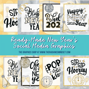 New Years Theme Ready Made | The Radiance Mindset | www.theradiancemindset.com