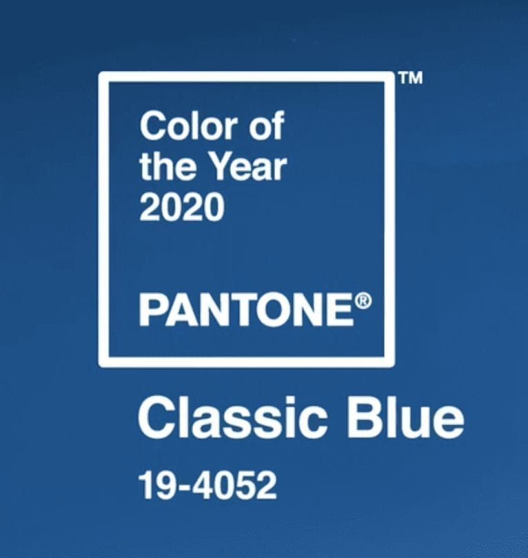 Classic Blue 2020 Color of the Year | The Radiance Mindset | www.theradiancemindset.com