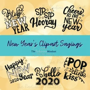 New Years Clipart sayings