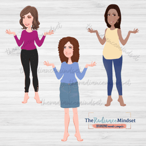 Basic Bottoms Clipart   Basic Tops Clipart   The Radiance Mindset   www.theradiancemindset