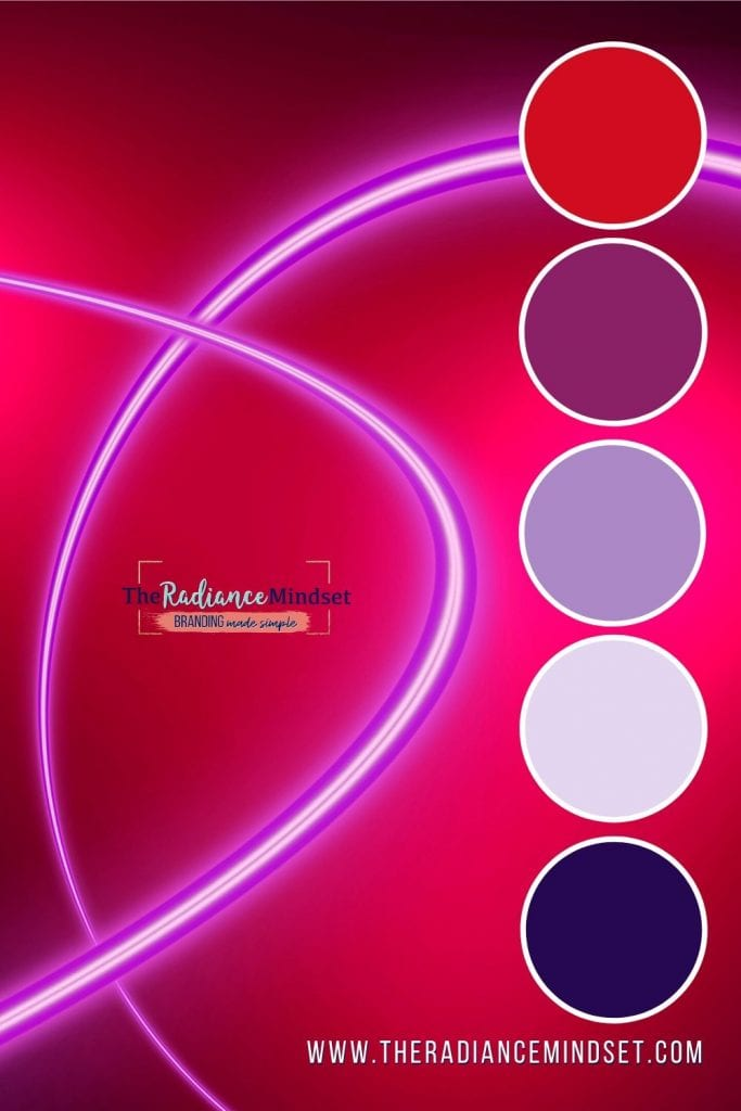 Using Red in Marketing | The Radiance Mindset | www.theradaincemindset.com
